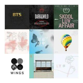 🚚 [Closed GO] BTS and TXT SEALED ALBUMS