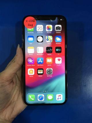 Used Apple IPhone X 256GB GRAY