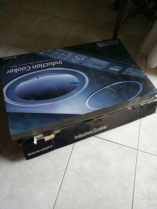 Take all 4,5jt 5item (all new) kompor induksi 2,multi pressed cooker,microwave, electric multi cooker