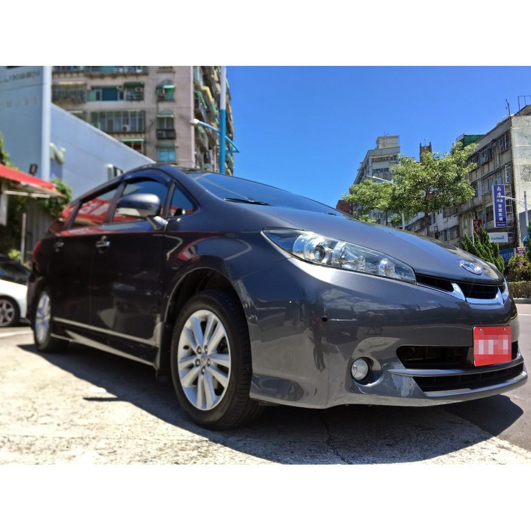 2011 Toyota Wish E-hi   僅跑九萬 配備超滿🈵🈵🈵