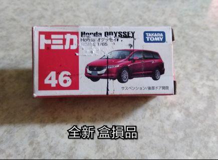 (全新 盒損品) Tomica 小汽車 No 46