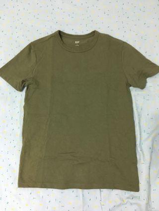 Gap 軍綠 T恤