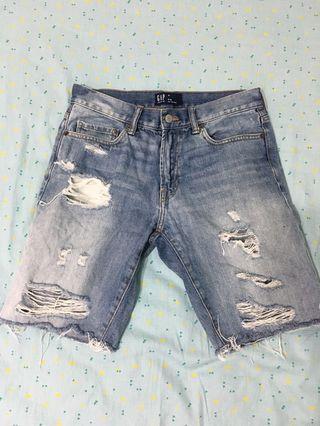 Gap 牛仔短褲 w29-30