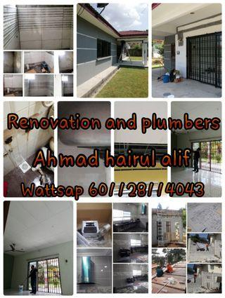Renovation and plumbers