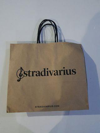 Paperbag paper bag stradivarius