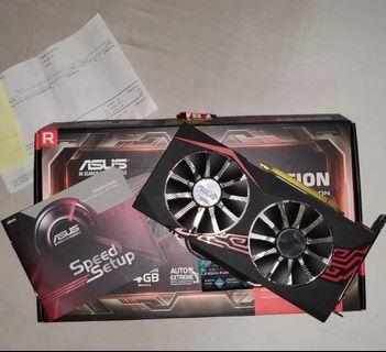 AMD RX 570 4GB ASUS EXPEDITION OC DDR5 VGA