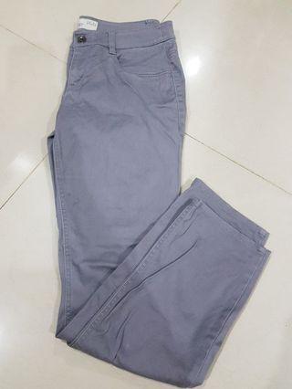 Free postage: Esprit Grey khakis long pants