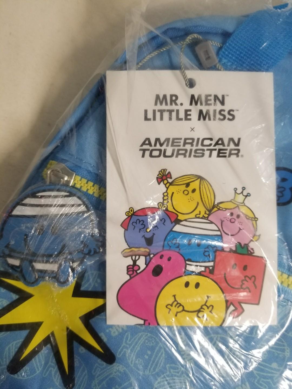 清屋大平賣 - AMERICAN TOURISTER x Mr. MEN LITTLE MISS MR. BUMP BACKPACK MR. MEN LITTLE MISS MR. BUMP 小背囊