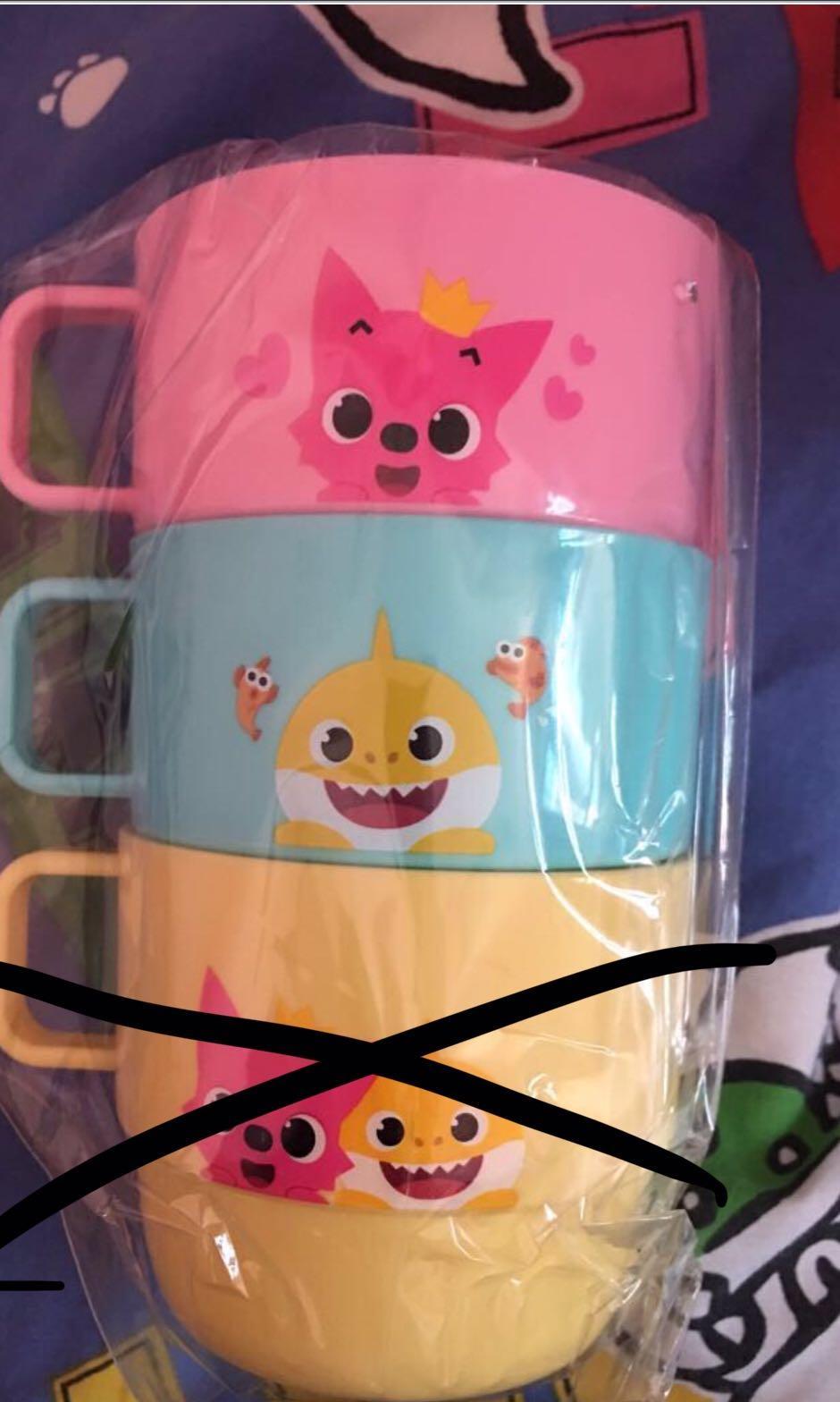 韓國 baby shark 杯 (一套兩個)