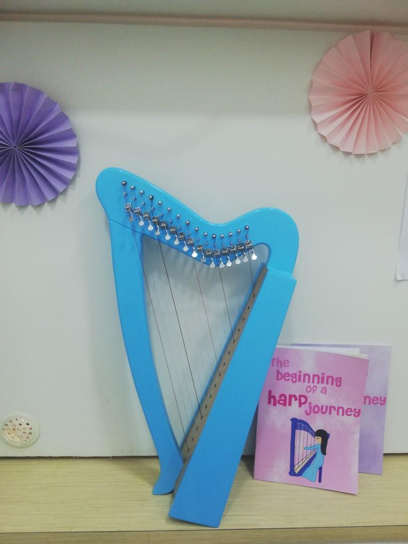 小豎琴課 harp lesson