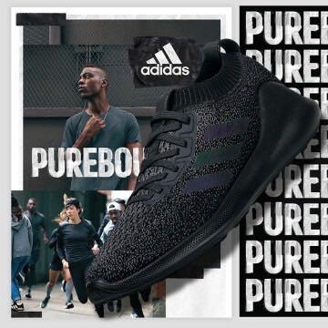 Adidas alphabounce black men - $95