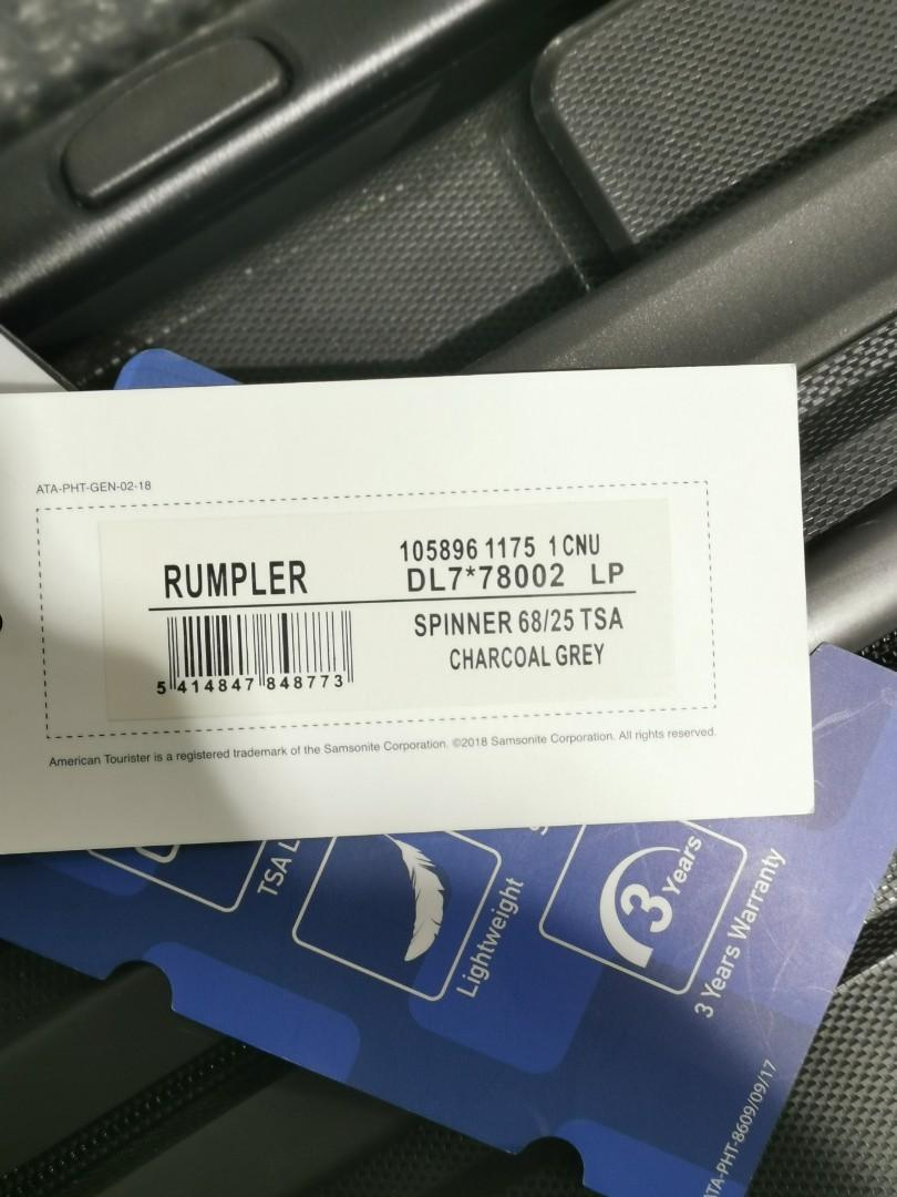 [全新]American Tourister Luggage 行李 旅行喼 25'
