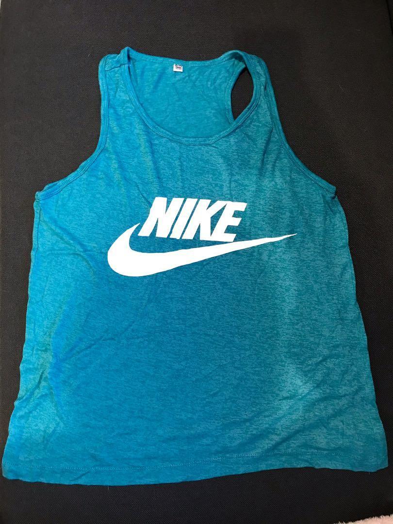 Blue Nike tank (FAKE)