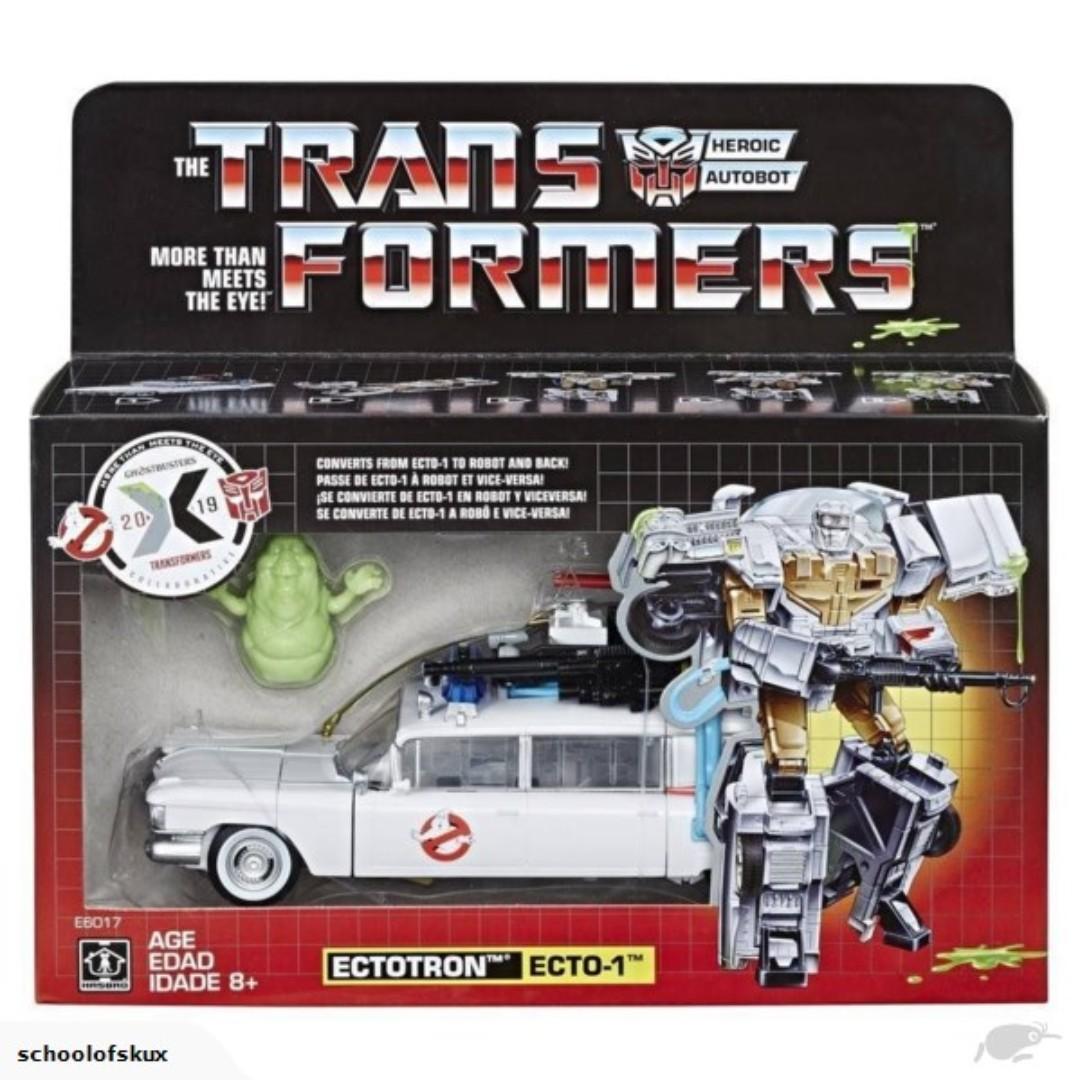 Brand New Hasbro Transformers Ghostbusters Etcotron ECTO-1 RARE