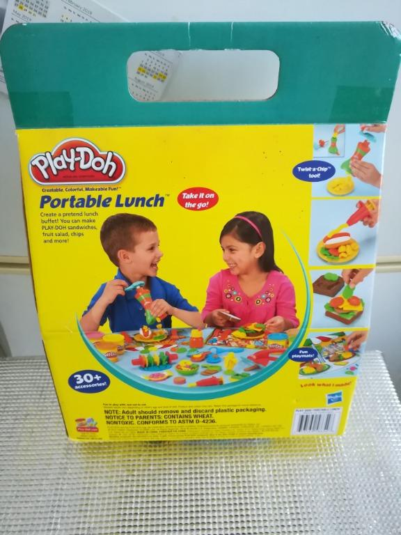 Brand New Play-Doh Gift Box Set 30 Plus Accessories