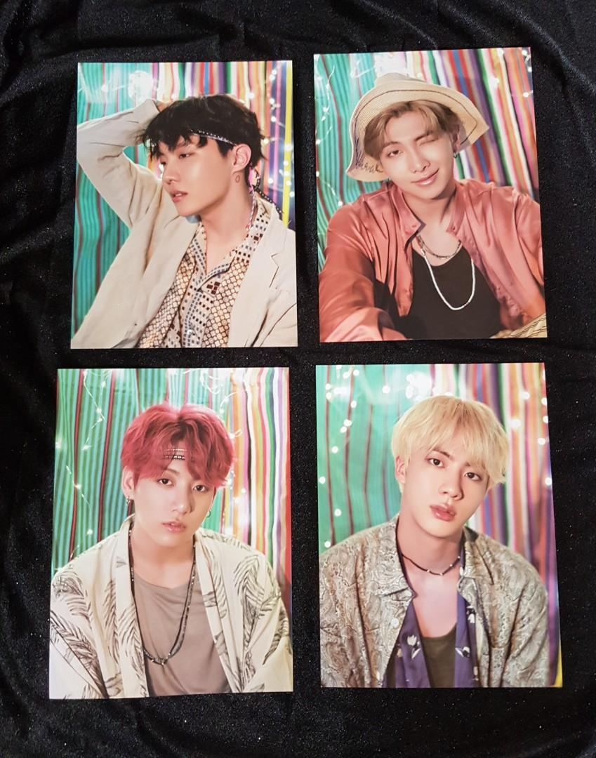 BTS MINI POSTER FROM SUMMER PACKAGE IN SAIPAN 2018