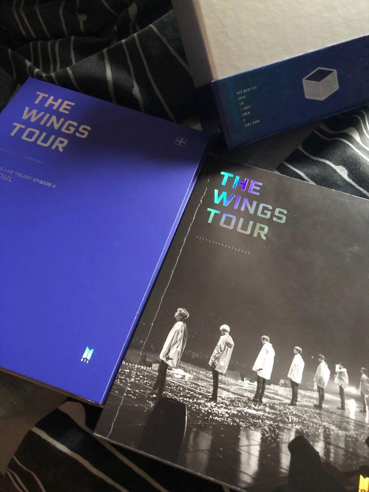 BTS THE WINGS TOUR DVD (2017 BTS Live Trilogy Episode III in Seoul)