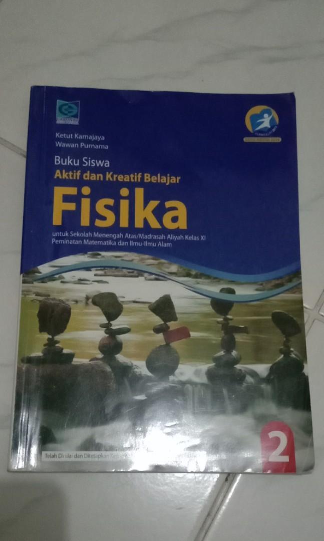 Buku Paket Fisika Kelas 11 Xi Grafindo Buku Alat Tulis Buku Pelajaran Di Carousell