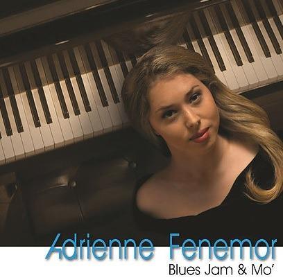 CD Adrienne Feremor - Blues Jam & Mo' Free Shipping
