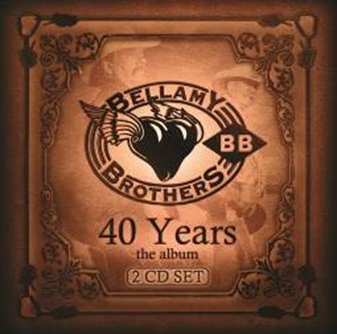 CD Bellamy Brothers, 40 Years The Album Free Shipping