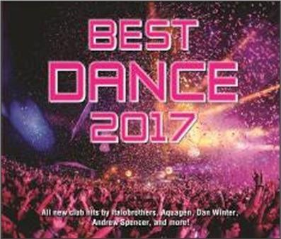CD Best Dance 2017 Aquagen Italobrothers Steve Cypress Free Shipping