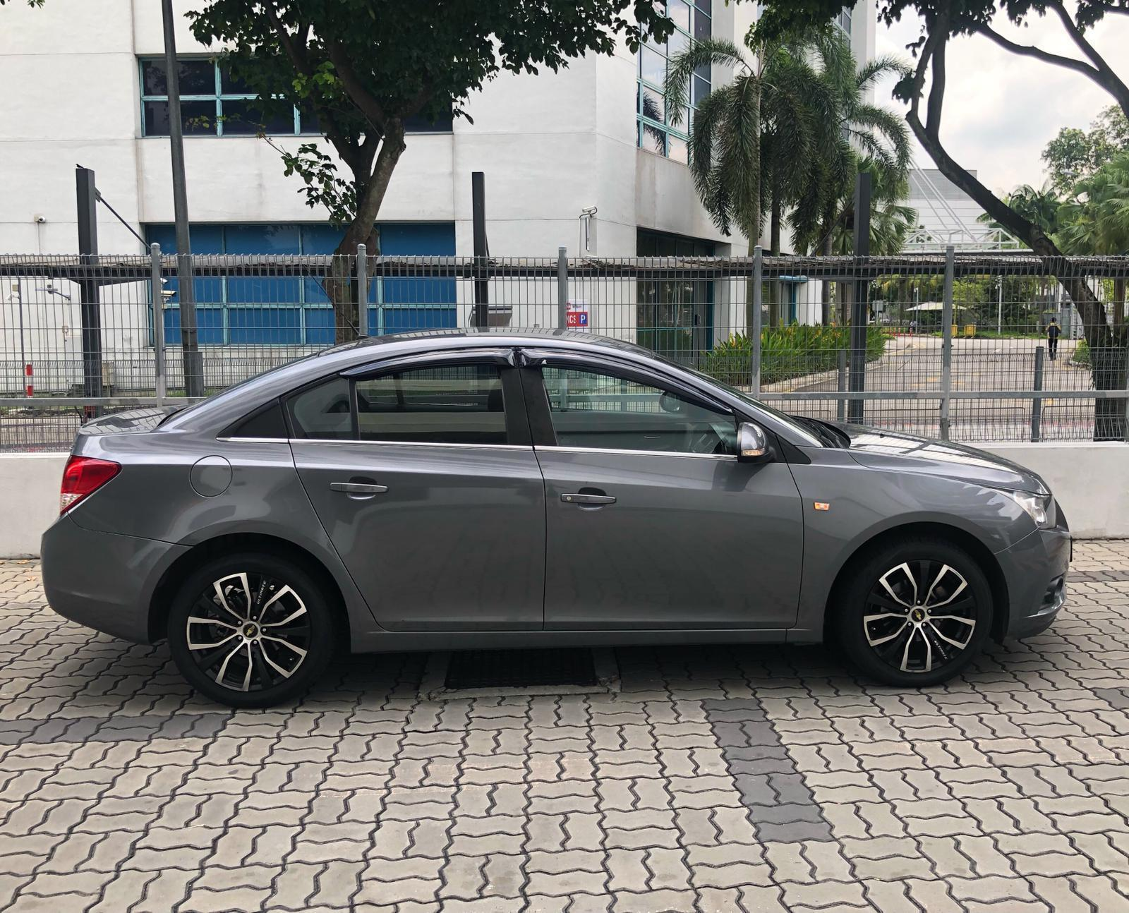Chevrolet Cruze 1.6A CHEAPEST Rental for PHV GoJek Grab Ryde or Personal use