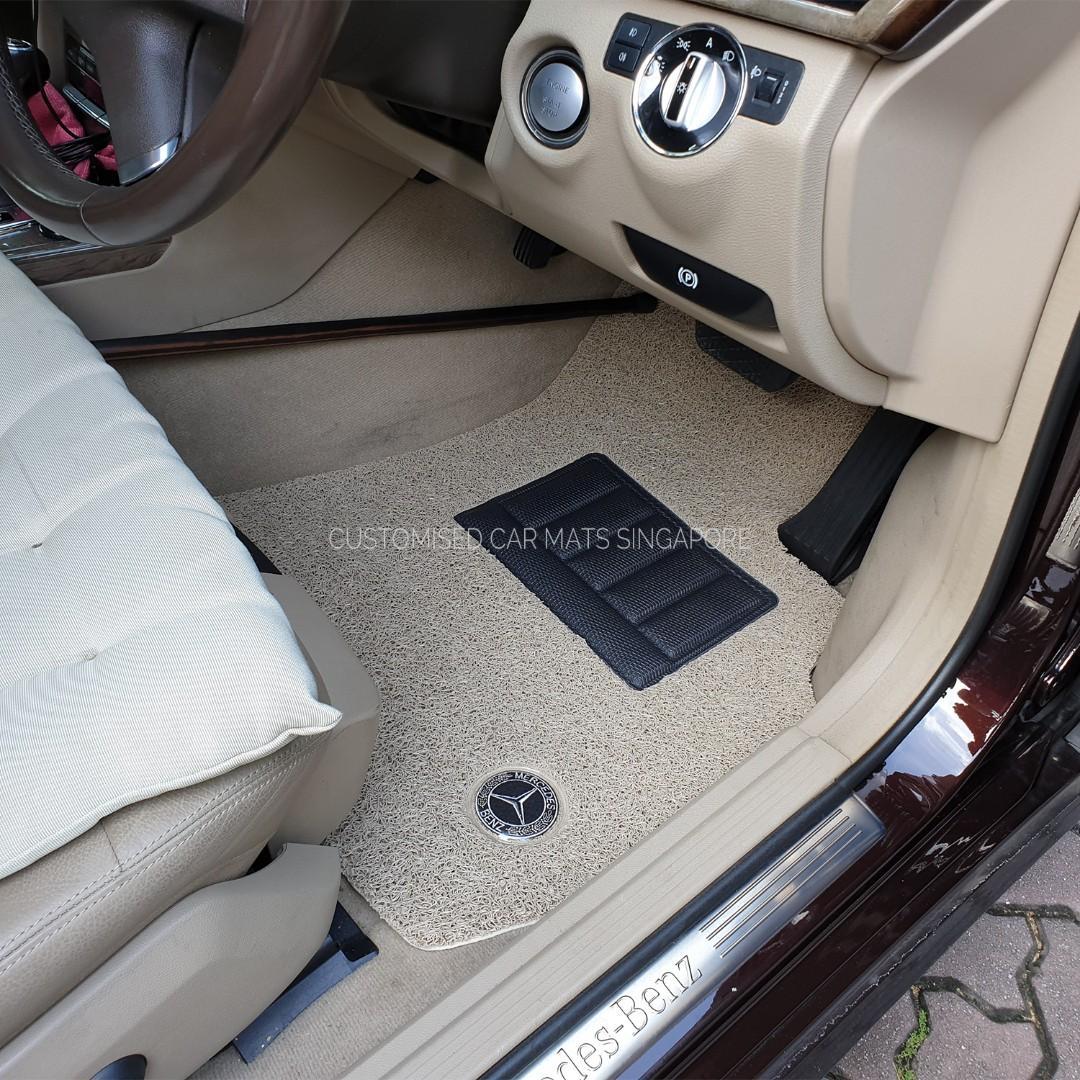 Custom-Made Car Mats ; All Mats Hand Prepared