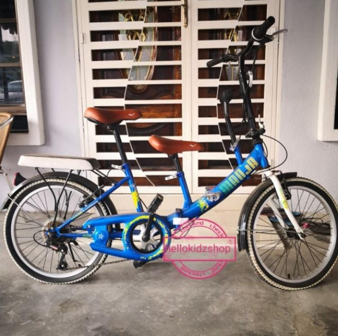 Folding Bike Adults and Children Twin and double seat on
