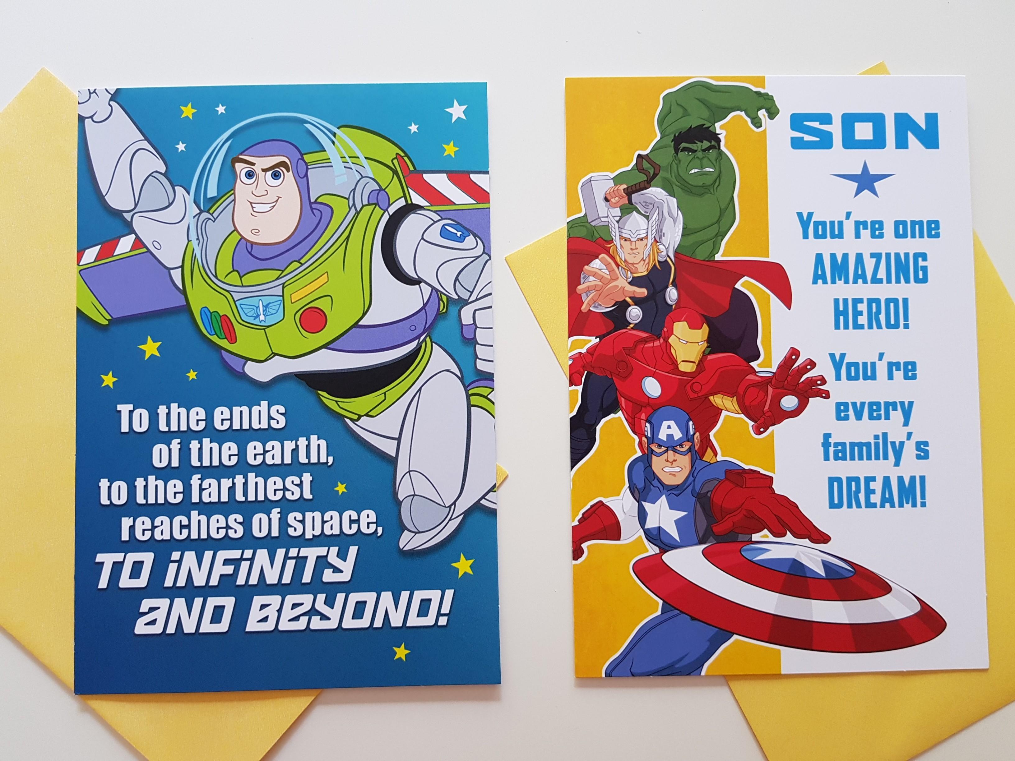Hallmark Birthday Cards For Son, Boy