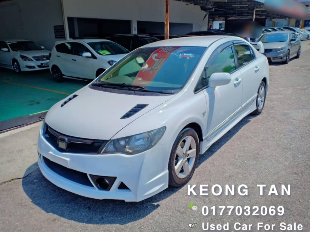 🚘HONDA CIVIC 1.8AT i-Vtec FACELIFT With MUGEN RR Bodykit 2010TH🎉JohorPlate🚘 Cash💰OfferPrice💲Rm46,800 Only🎉Lowest Price InJB 🎉📲0177032069 Keong‼🤗