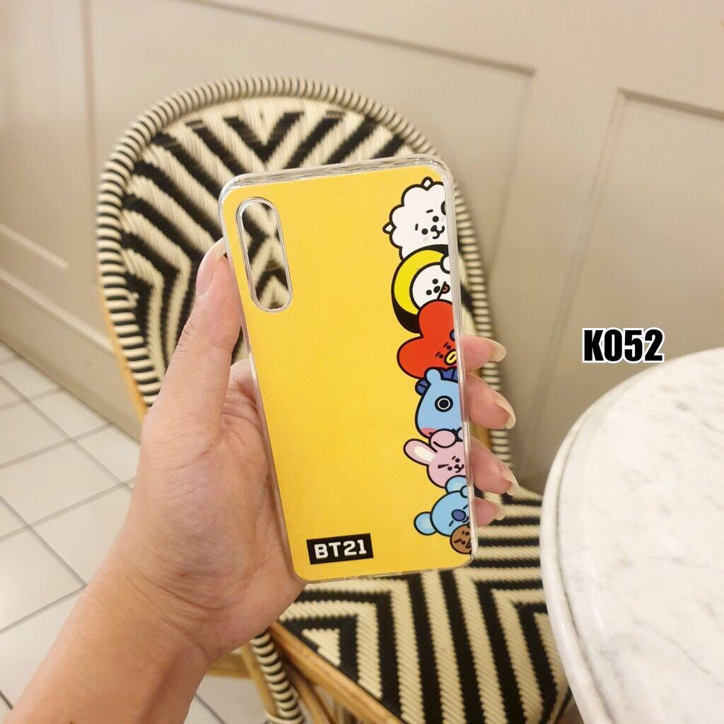 Kpop Jelly Case BT21 Character