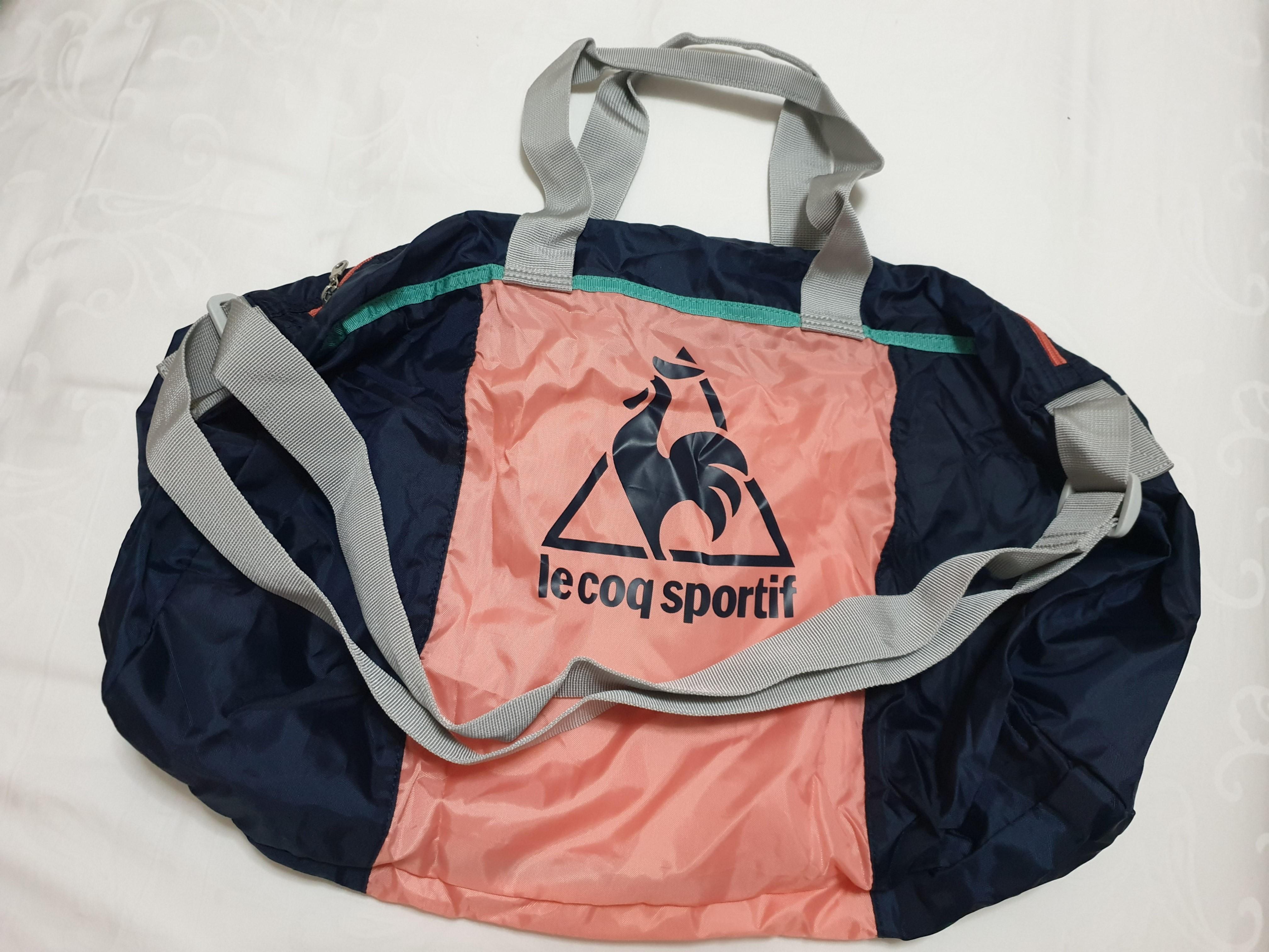 Le Coq Sportif Compact Drum Bag