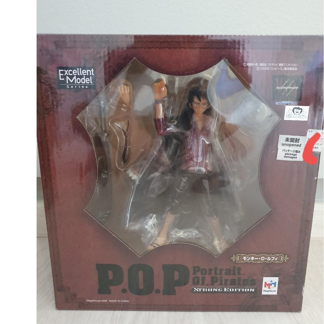 Luffy Megahouse POP Strong Edition