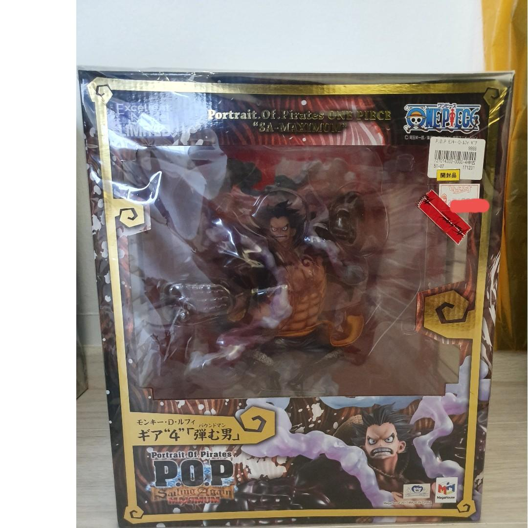 Luffy S.A 4th Gear Megahouse POP
