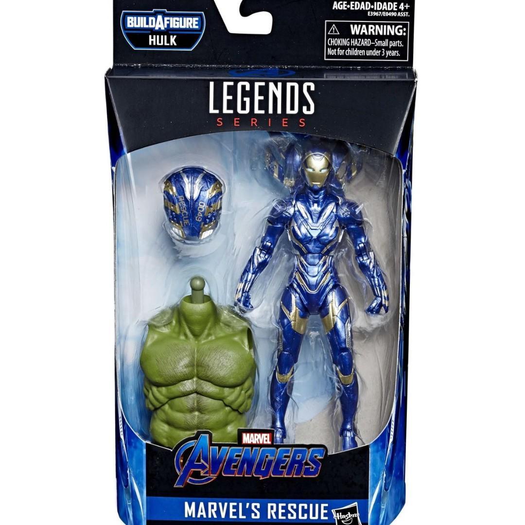 Marvel Avengers Endgame Marvel Legends Hulk Series Rescue Action Figure