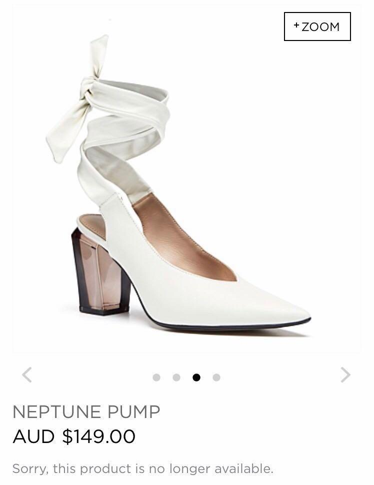 MIMCO LEATHER NEPTUNE PUMP RRP$149 SOLD OUT ONLINE AUTHENTIC