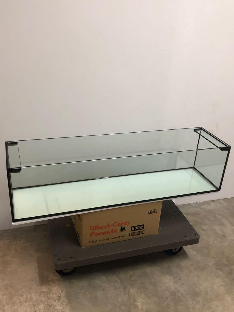 🔥🔥🔥New 4ft by 1ft by 1ft 8mm aquarium glass tank with delivery