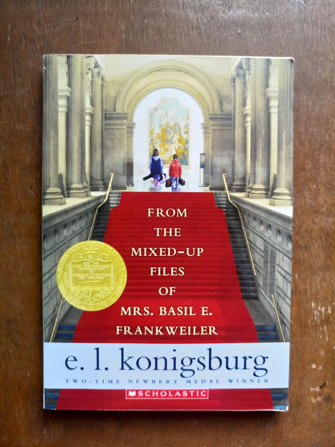 [NEW BOOKS] From the Mixed-Up Files of Mrs. Basil F. Frankweiler by E. L. Konigsburg
