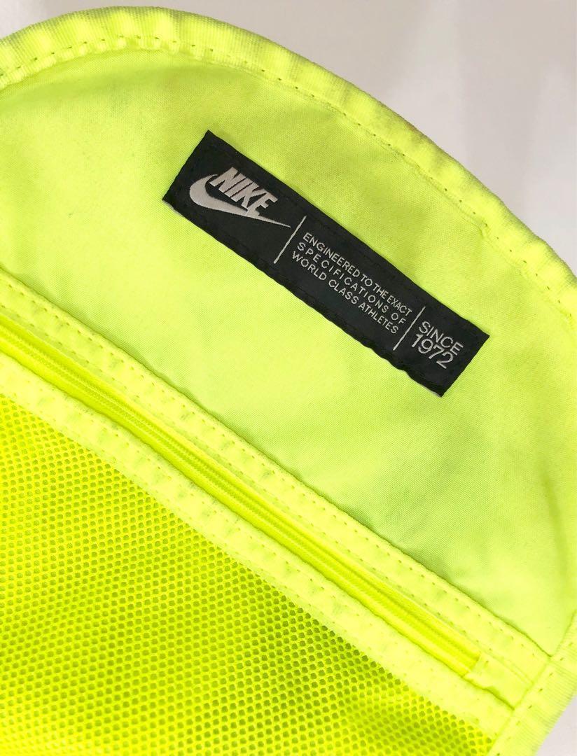 Nike YA Cheyenne Backpack Tas Ransel / Backpack Hijau Neon Green Motif Army