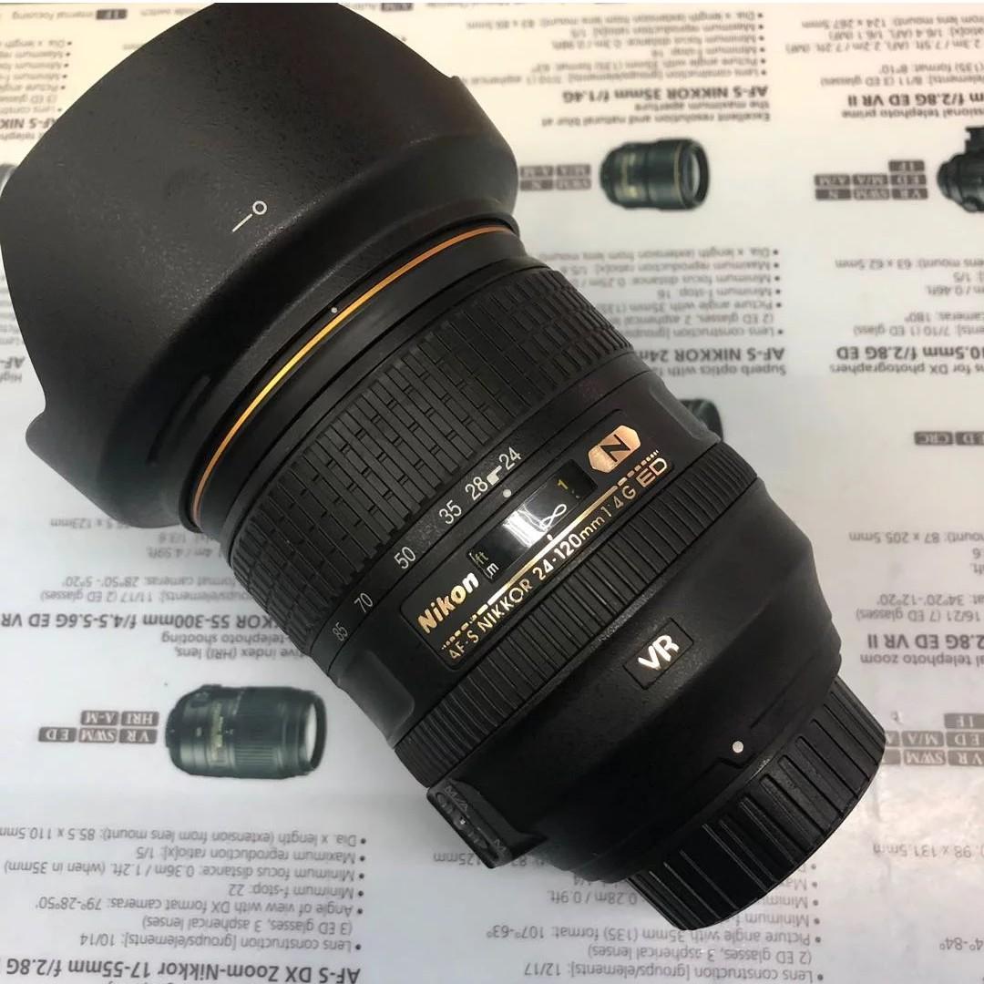 Nikon AF-S 24-120mm F4 ED VR Nano