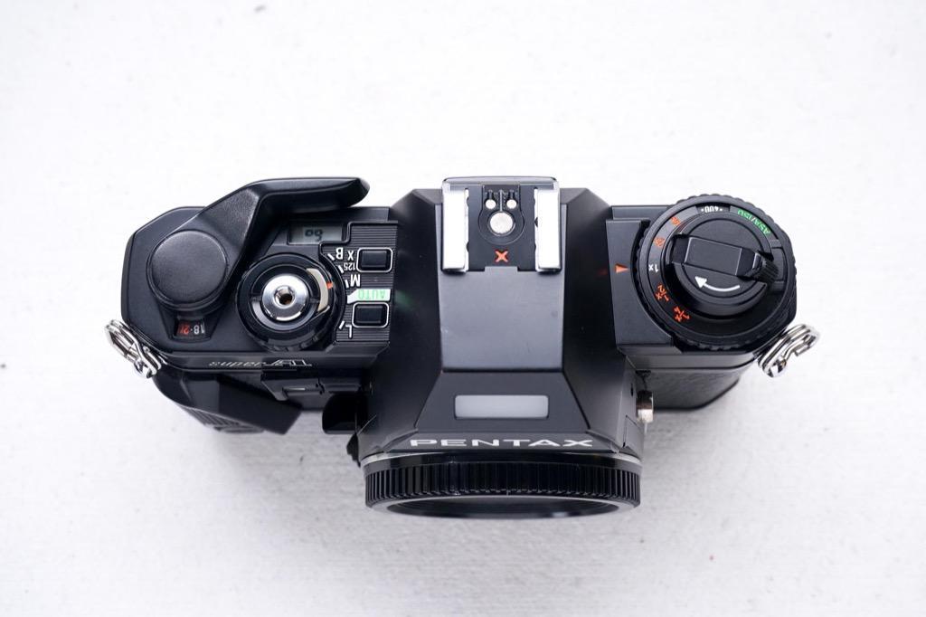 Pentax Super A SLR film camera body