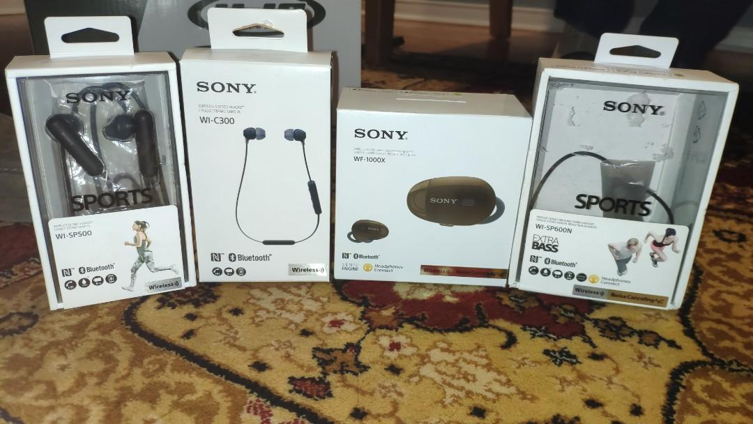 Sony Headphones At Competitive Prices- All Wireless