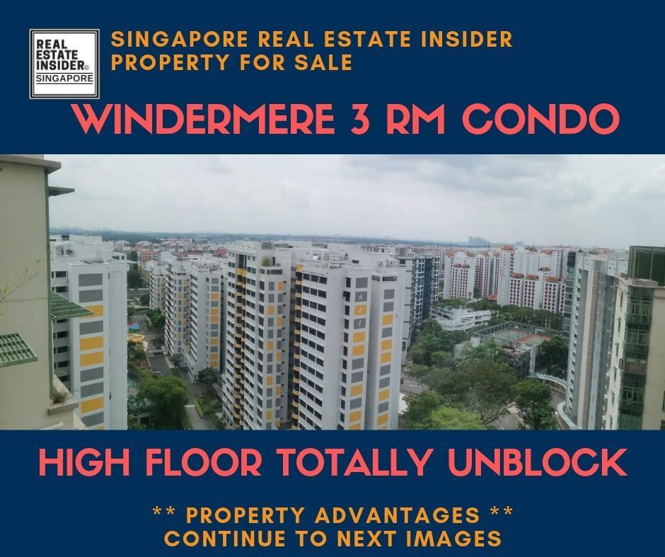 Super High Floor Unblock 3 Rm WINDERMERE