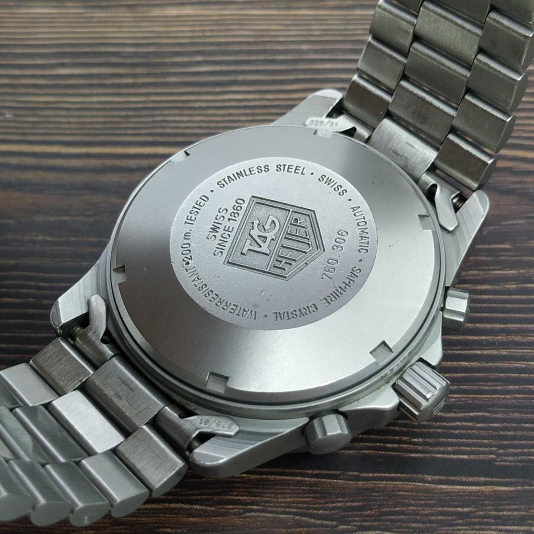 TAG Heuer 2000 760.306 Automatic Chronograph jam tangan antik asli original langka murah