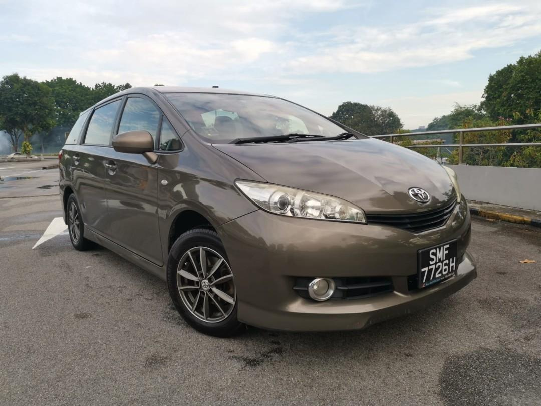 Toyota Wish for short/long term rental. Daily from $80