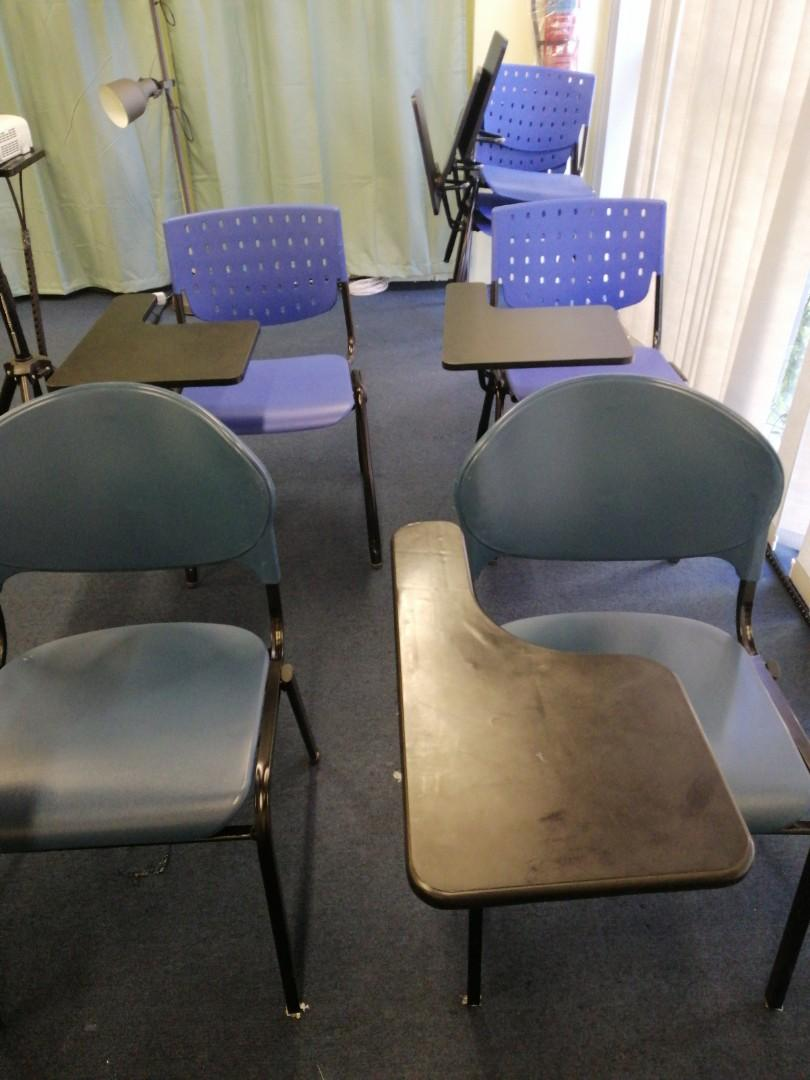 Training Chairs With Flip Side Table Furniture Tables Chairs On Carousell
