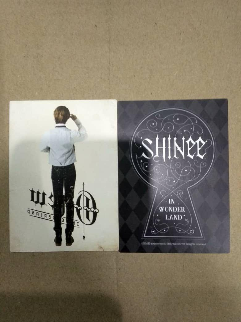 (Urgent Sell)Shinee In Wonderland Official Photocard-Onew Ver.