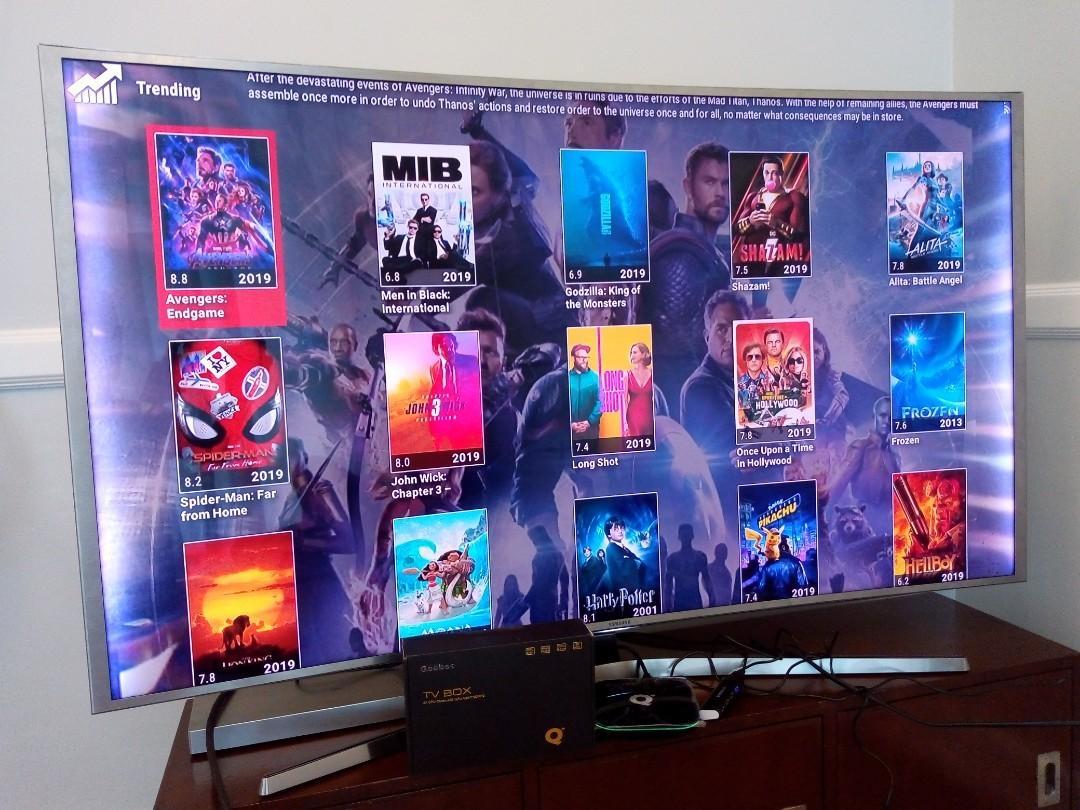 V88 7 1 Android Smart TV Box FREE ACCESS Fully Loaded TV