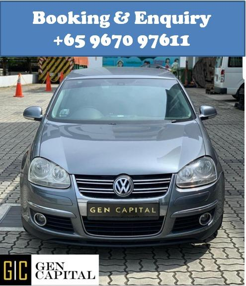 Volkswagen Jetta 1.4A TSI @ Lowest rental rates, good condition!