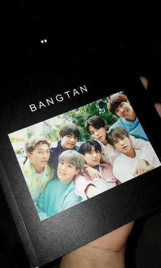 BTS photobook exhibition edition